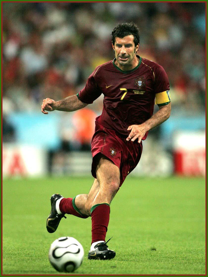 Luis Figo top footballer